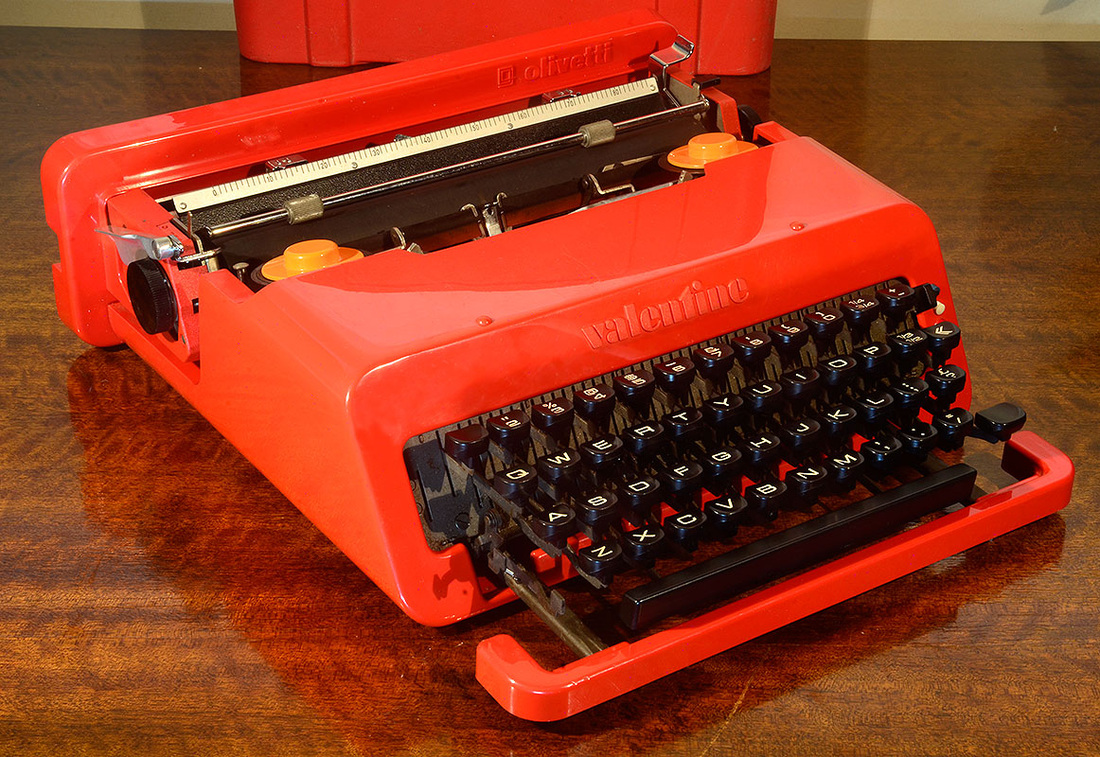 Olivetti Valentine S Typewriter   DOWNUNDER PICKERS TEASURES FROM THE BEACH  TO BUSH